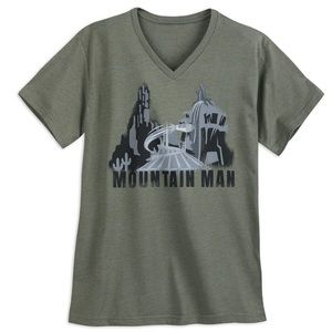 New Disney Mountain Man T Shirt